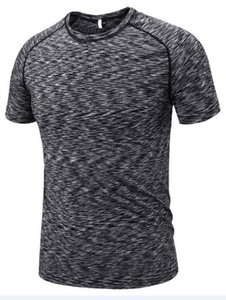 2019 men's tight clothes running short-sleeved quick-drying T-shirt 314