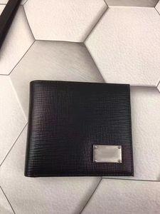 No Best-seller! Nova moda de couro high-end curto carteira pacote de cartões clássico de negócios tendência handmade linha do carro, tanto para homens e mulheres