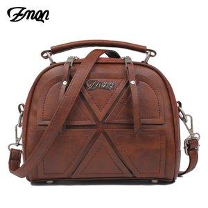 Zmqn donne borse a tracolla famoso marchio 2019 vintage donne borse crossbody per le donne piccole borse in pelle pu bolsa feminina A523 Y19052402