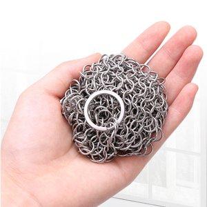 Wire Brush Pan panno da cucina sfera di pulizia della cucina dell'acciaio inossidabile casa Pan Pot spazzola di lavaggio netto per pulizia in Scrubber
