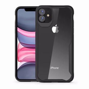 Moda Transparente Voltar Casos TPU para iphone 13 12 11 Pro Xs Max Xr Se2 Limpar caso de choque à prova de choque Forgalaxy S21 S20 S10 Plus Note 10 20 Capa de Armadura