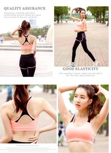 Korean breathable spring and summer new sports quick-drying bra breathable yoga clothes fitness underwear vest ladies