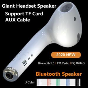 Altavoz Macaron altavoz del coche Gen 2 gigante Auricular altavoz MK101 Bluetooth estéreo portátil inalámbrico de altavoces de sonido envolvente exterior del USB