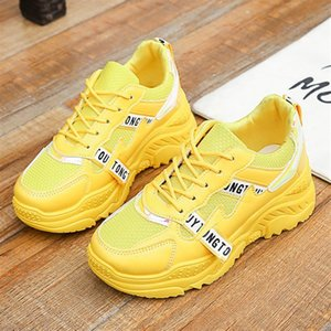 New Designer Korean White Platform Sneakers Casual Shoes Women 2019 Fashion SpringTenis Feminino Woman Footwear Basket Femme