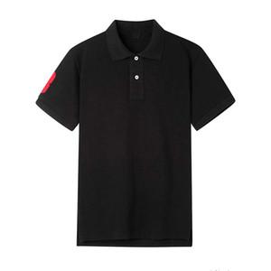 Cheval Horse Gratuit Horse Polo Big Sleeve Short Fast Tee Jerseys Nouveau t-shirt 100% coton Polo Taille Livraison Chaud Plus Mens S-2XL Rougn