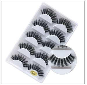 3D Mink Eyelashes Eye makeup Mink False lashes Soft Natural Thick Fake Eyelashes 3D Eye Lashes Extension Beauty Tools