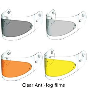 Kask Temizle Anti-FogNeww Kask Kalkanı Anti Sis Filmi Şeffaf Motosiklet Anti-sis Yama Özel Moleküler ile Net Visor Len