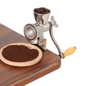 De acero inoxidable manual de molienda de maíz Miller molino de harina del grano de café de la máquina amoladora Nuez Grinder y especias Grinder herramienta de la cocina T200227