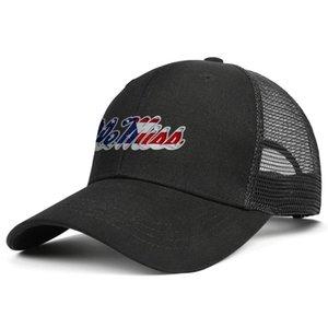 Moda Ole Miss Rebels Bandera Efecto logotipo unisex gorra de béisbol de la vendimia con estilo Trucke sombreros del fútbol apenada Universidad Rojo Gris Blanco