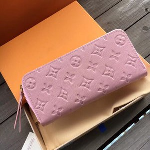 60171vv bolsos clásicos de las mujeres delgadas de cuero corta carteras de mini titular de la tarjeta monedero diseñador portátil de la tarjeta de banco de la cartera Money Clips coi