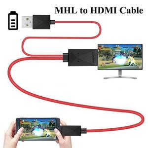Совершенно новый стиль MHL Micro USB к HDMI 1080P HD TV кабель адаптер для Android телефонов Samsung