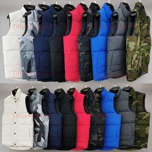 Yüksek kaliteli Fransız Erkekler Kış Aşağı Taktik Yelek Klasik Tüy Weskit Ceket Casual Yelekler Coat Kuzey Puffer Doudoune Homme AB XSbedeni-2XL