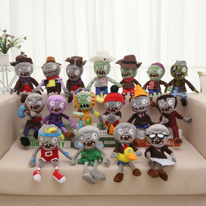 40 Styles Plants vs Zombies en peluche Toys de Plants vs Zombies doux en peluche Jouets Baby Doll Toy Cadeaux Party Jeux d'enfants