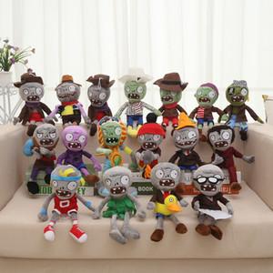 40 Estilos Plants vs Zombies Peluches 30cm Plantas vs Zombies relleno suave felpa muñeca de juguete juguetes de bebé para los regalos del fiesta de los niños Juguetes