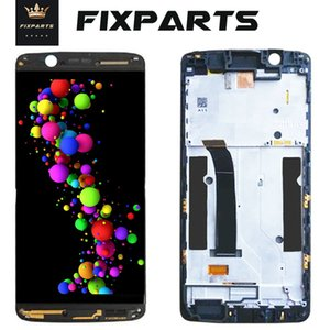 Working Test AMOLED LCD ZTE Axon 7 mini Screen Display LCD con cornice Touch Panel Digitizer Assembly Repalcement Parts LCD b2017