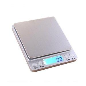 Großhandel 3 kg Küche elektronische Waage portable 0.01g Präzision elektronische Waagen Haushalt Präzision Back Skala