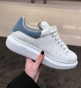 2019 Reflexão Colorido Mens Sapatos Casuais Plataforma de Moda de Luxo Designer de Mulheres Tênis De Couro Laranja Do Vintage Trainer Sapatos Alpercatas