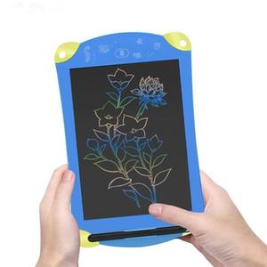 8,5 pouces LCD coloré dessin tablette électronique pavé d'écriture Tablettes graphiques numériques pavé d'écriture électronique peinture bloc-notes