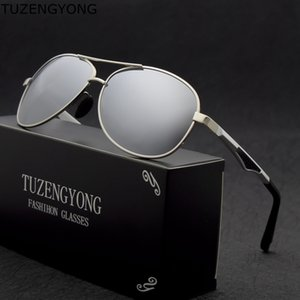 2020 New Aluminum HD Polarized Sunglasses Men New Men's Driving Sun Glasses Male Eyewear goggles Anti-Glare oculos