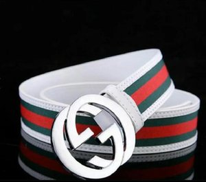 Wholesale 110 120 140cm Canvas Belt Many Styles High Quality Men And Women Military Thicker Casual Canvas Belt 20 Colors HE11