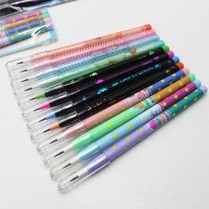 Ucuz Standard s 4PCS / Seti Sigara keskinleştirme Kalem Sevimli Kırtasiye Karikatür Kalem Plastik Kalem Öğrenci Okul Ofis Kırtasiye