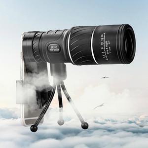Высокой мощности открытый 16X52 один телескоп HD двойной сигнал один оптический телескоп низкой освещенности ночного видения, туристические походы кемпинг зум