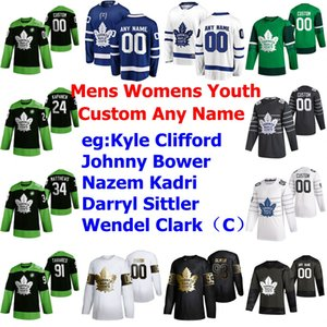 Toronto Maple Leafs Jerseys Mens Nicholas Shore Jersey Jason Spezza Dmytro Timashov Tyson Barrie Cody Ceci Hockey Fight nCoV Custom Stitched