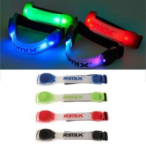 Gece Sports LED Kol bandı Işıklar Glow Band 2 Modlar Daima Parlak / Yanıp sönen, Glow Bilezikler, Kol çevresi için Uyumlar: 26-50cm