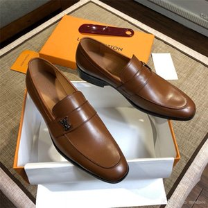 19FW мужчины формальная обувь бантом свадебное платье мужской квартиры Джентльмены повседневная скольжения на обувь черный лакированная кожа красная замша мокасины BONSIN