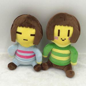 20 см Undertale плюшевые игрушки Undertale Chara Frisk плюшевые куклы игрушки мягкие мягкие игрушки для детей Дети рождественские подарки C2