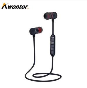 BST-M9 магнитная Беспроводная Bluetooth-гарнитура Спорт наушники HandFree стерео уменьшение Nosie Sweatproof дизайн Бесплатная доставка DHL