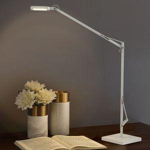 Nordic Metal Long Arm LED Desk Lamp Restaurant Bar Villa Bedroom Bedside Reading Art Table Lamp TA219