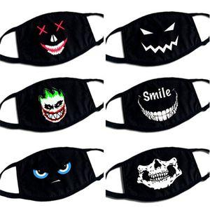 Cotton Dustproof Mouth Face Mask Multi Style Cute Cartoon Face Mask Reusable Anti-dust Masks Facial Protective HHA1268
