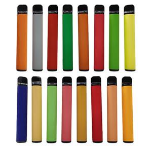 800 inhalaciones kits de cigarrillos-E vainas de cartuchos desechables Vape pluma Dispositivo Pod 3,2 ml Vaciar vaporizador 550mAh batería de empaquetado 5% Caja de presentación