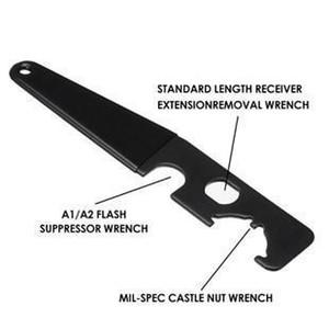 AR15 / AR15 M4 Werkzeugmetallganzstahlledergriff AR15 Schraubwerkzeug