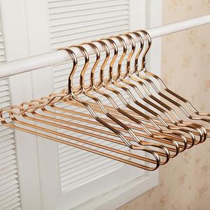 5 pc nuovi spessa in lega di alluminio stenditoi casa senza saldatura Hanger antiscivolo Abbigliamento Hanger antiruggine vestiti antivento Rack