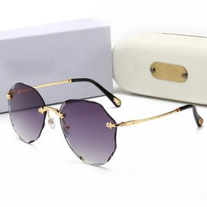 Ralferty Trendy Irregular Polygon Sunglasses Women Sun Glasses UV400 Eyewear Irregular Octagon Sunglases lunette soleil femme