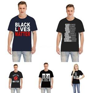 Nero Lives Matter! Progettista del mens delle magliette di marca di modo Palazzi maglietta di modo qualità degli uomini magliette di via di alto Hip Hop T-shirt casual Br # 3