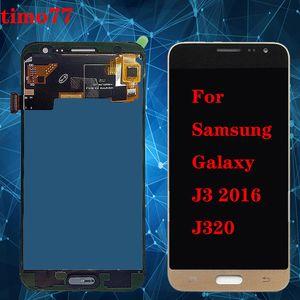 Pour Samsung 2016 J320F J320M J3 J320Y J320 pleine Ecran Lcd luminosité TFT réglable avec écran tactile Digitizer Ensemble complet