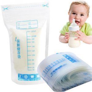 Breast milk storage bag 30 pieces bag Baby Food Storage 250ml Disposable Practical and convenient breast milk Freezer Bags
