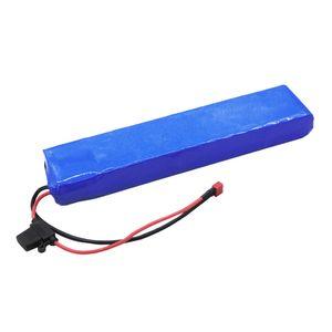 Özelleştirilmiş Lityum SANYO GA 36V 10AH Için 36 Volt E-Datmak Escooter Pil Paketi Şarj Cihazı