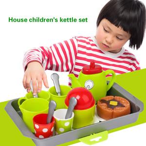 18 PCS Kitchen Toy Pretend Play Kaffee-Tee-Set Spielzeug für Kinder Mädchen Educational Set Weihnachtsgeschenk