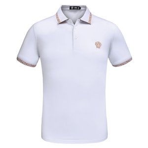 MS VASSA Mulheres Tees 2017 Primavera Verão casual T-shirt de manga três quartos senhoras tops town-down collar plus size 5XL 6XL