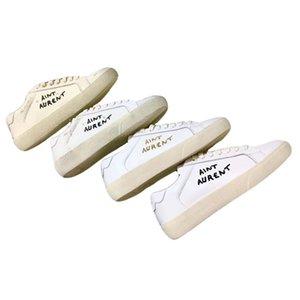 Luxo Canvas Sneakers Sain sapatos amantes homens buracos bordados plana casuais das mulheres brancas para fazer sapatos lona velha