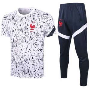 20 21 Francia fútbol chándal Pogba trajes de pista de la chaqueta 2010 2021 Griezmann chandal Mbappé hombre formar a niños juegos de los deportes lleva camiseta de fútbol