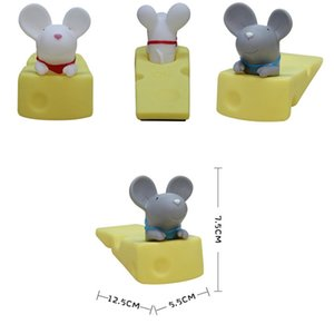 HOT Cute Door Stops Cartoon Creative Silicone Door Stopper Holder Toys For Children Baby Home Furniture Hardware