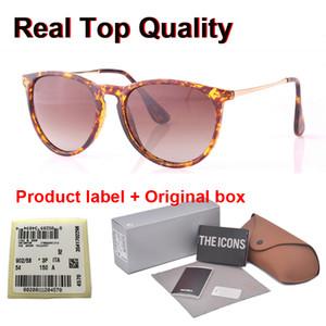 Alta calidad 4171 lentes polarizadas gafas de sol mujeres de los hombres marca de diseño UV400 Gafas Gafas de sol del gradiente de casos y la etiqueta