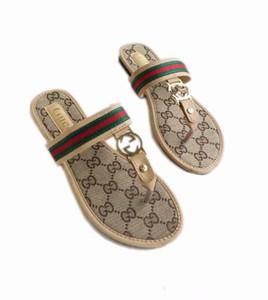 сандалии Женщины высокого класса тапочки женские слайды 2019 мода подошва кожаные шлепанцы с плоским дном сандалии женская обувь