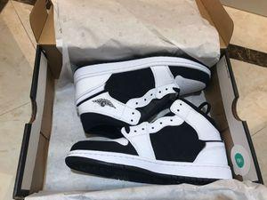 Mid Panda alta OG WMNS scarpe da basket 1 1s Panda Mens Nero Bianco Outdoor Sports Sneakers xshfbcl