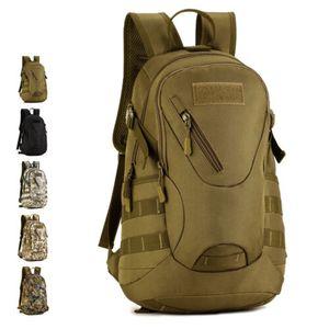 Мужчины Прочный нейлоновый рюкзак рюкзака Military Tactical книга Student рюкзака сумка